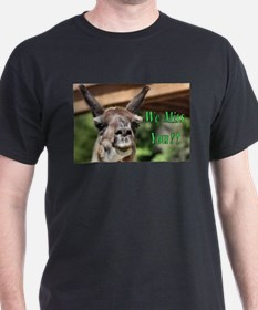 We Miss You Card T-Shirt