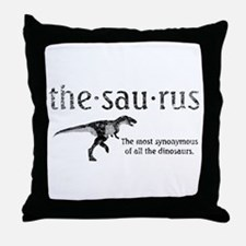 Thesaurus The most synonymous of all Throw Pillow
