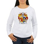 Chanocca Family Crest Women's Long Sleeve T-Shirt