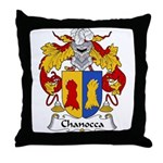Chanocca Family Crest Throw Pillow