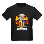 Chanocca Family Crest Kids Dark T-Shirt