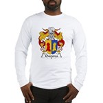 Chanocca Family Crest Long Sleeve T-Shirt
