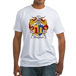 Chanocca Family Crest Fitted T-Shirt