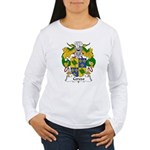 Cerezo Family Crest Women's Long Sleeve T-Shirt