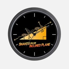 Snakes/Inclined Plane Wall Clock