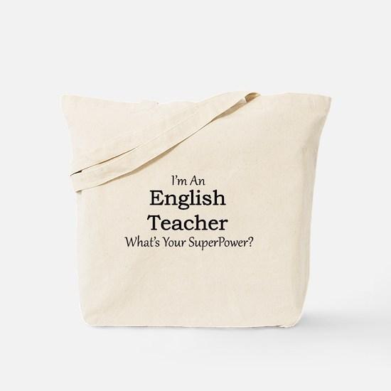 English Teacher Tote Bag