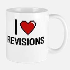 I Love Revisions Digital Design Mugs