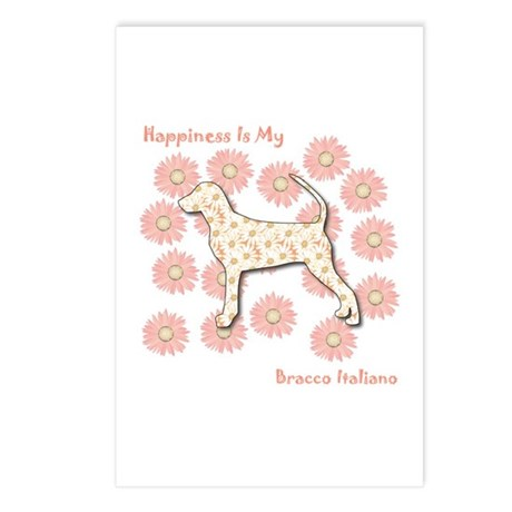 Bracco Happiness Postcards (Package of 8)