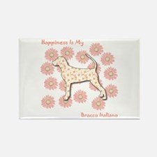 Bracco Happiness Rectangle Magnet