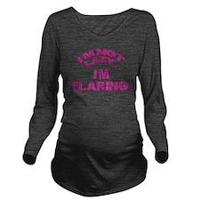 Cute Disabilities Long Sleeve Maternity T-Shirt