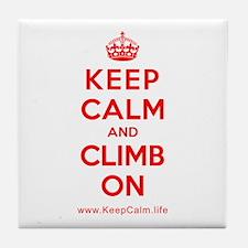 Unique Keep calm and Tile Coaster