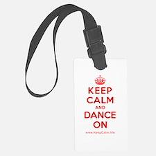 Cute Keep calm and dance on Luggage Tag