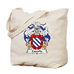 Cazorla Family Crest Tote Bag