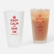 Unique Calm dive Drinking Glass
