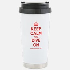 Unique Calm dive Travel Mug