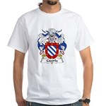 Cazorla Family Crest White T-Shirt