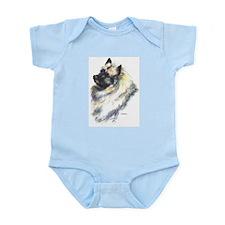 Keeshond #1 Infant Creeper