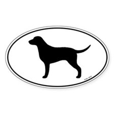 Curly Coated Retriever Decal