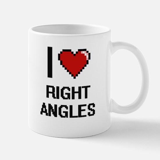 I Love Right Angles Digital Design Mugs