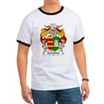 Caviedes Family Crest Ringer T