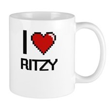 I Love Ritzy Digital Design Mugs