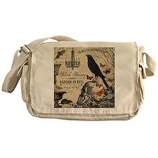 Modern vintage Halloween Messenger Bag