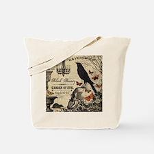 Modern vintage Halloween Tote Bag