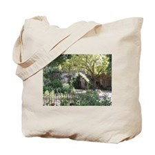 Courtyard Florence Italy Tote Bag