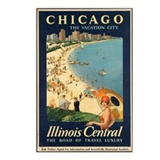 Chicago The Vacation City Postcards (package Of 8)