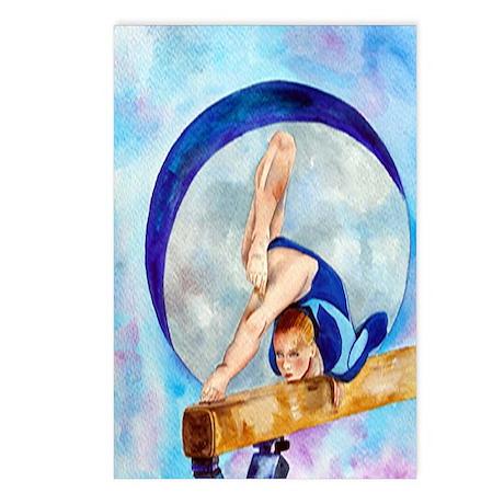 Moon Beam Gymnastics Postcards (Package of 8)