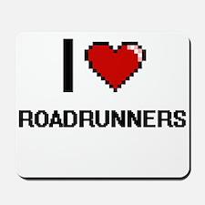 I Love Roadrunners Digital Design Mousepad