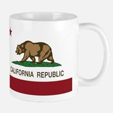 California Republic bear Mugs