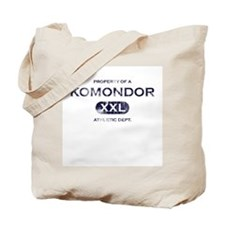 Property of Komondor Tote Bag