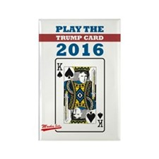 Play the Trump Card 2016 Rectangle Magnet