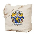 Castellblanch Family Crest Tote Bag