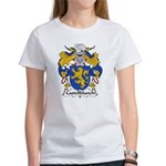 Castellblanch Family Crest Women's T-Shirt