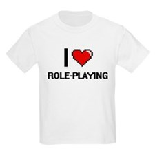 I Love Role-Playing Digital Design T-Shirt