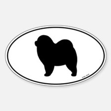 Euro Rough Chow Chow Decal