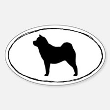 Euro Smooth Chow Chow Decal