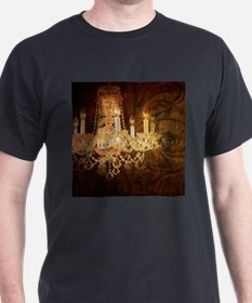 western country vintage chandelier T-Shirt