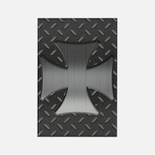 Maltese Grid II Rectangle Magnet