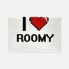 I Love Roomy Digital Design Magnets