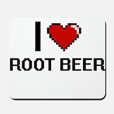 I Love Root Beer Digital Design Mousepad