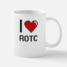 I Love Rotc Digital Design Mugs