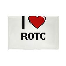 I Love Rotc Digital Design Magnets