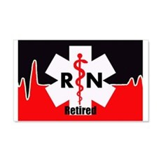 Retired Nurse Wall Decal