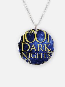1,001 Dark Nights square log Necklace