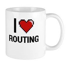 I Love Routing Digital Design Mugs
