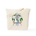 Cascos Family Crest Tote Bag