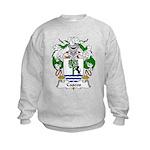 Cascos Family Crest Kids Sweatshirt
